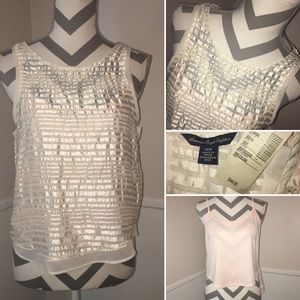 AE OUTFITTERS | NWT | sheer top with sewn in cami